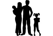 hausse imp t couple cadre avec deux enfants. Black Bedroom Furniture Sets. Home Design Ideas